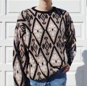 Vintage Pattern Sweater